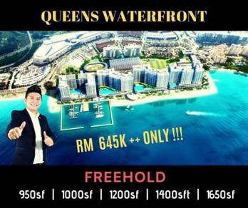 Queens Waterfront [ New Launch ] CRAZY DEAL NOW !!!