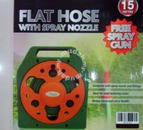 Magic Flat Hose Spray Nozzle gun water jet 50 feet