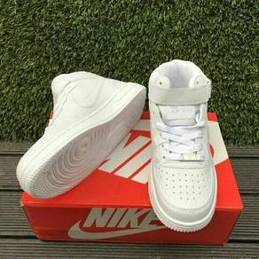 Nike Air Force All White Highcut