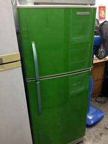 Fridge Green Panasonic Refrigerator Peti Freezer