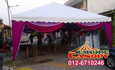 Sewa canopy - pakej ekonomi 1 piramid