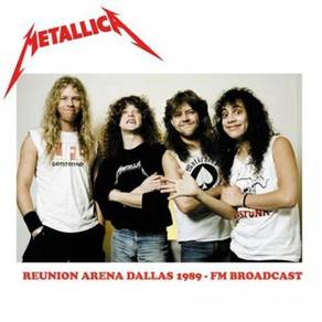 Metallica Reunion Arena Dallas 1989 - FM Broadcast