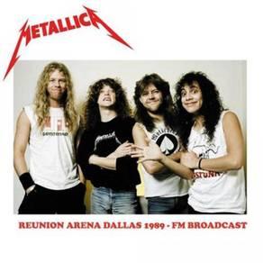 Metallica Reunion Arena Dallas 1989 - FM Broadcast