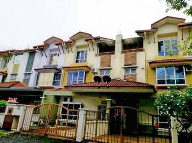Fully Reno 2.5 Storey House 5 Room 22x85 Prima Tropika Seri Kembangan