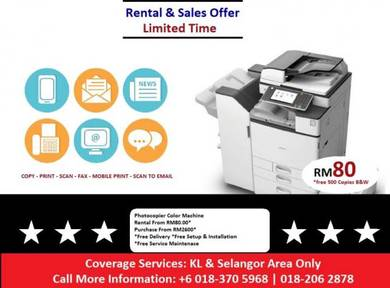 Photocopy Machine Printer Print scan Copier Rental