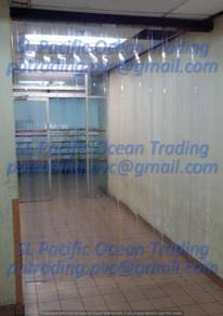 Soft Transparent Strip Curtain 2mmx 200mm