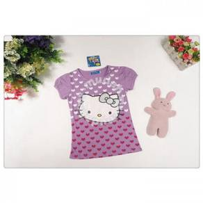 Style Charming Hello Kitty Top (Purple)