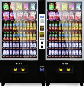 New Double Combo Vending Machine RM25K Ready Stock