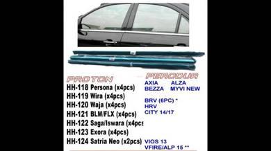 Honda city brv hrv vios door trim moulding chrome