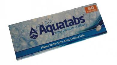 Aquatabs water purification tables 50 tablets
