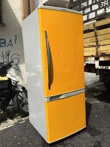 Panasonic Yellow Fridge 2 doors Refrigerator