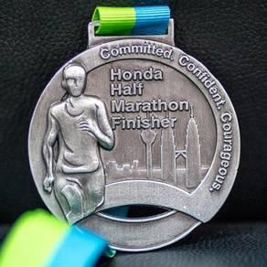 Kilang Medal Custom Design / Marathon Medal