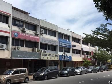 Shop Lot at Jalan Melaka Raya Main Road ,Melaka