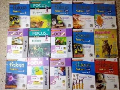 Reference Spm pelangi FOCUS Book like new murah