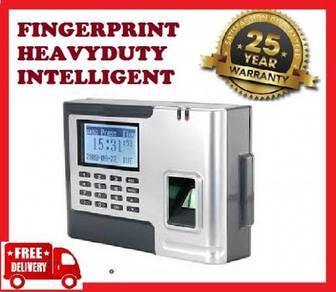 2 KINGS fingerprint time recorder machine+50yr