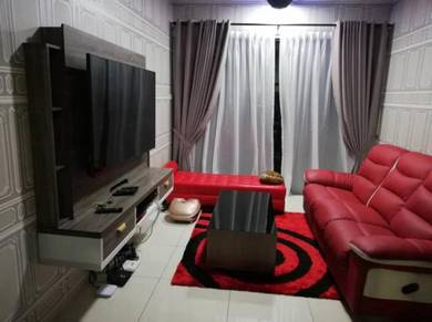 Kl Traders Square condo 3 room 2 bathrooms FULLY FURNISHED