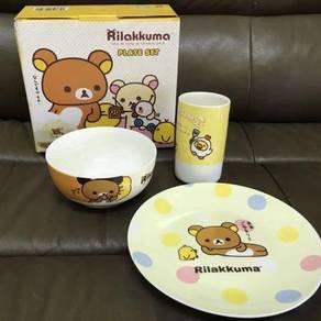 Brand new original rilakkuma dining set san x