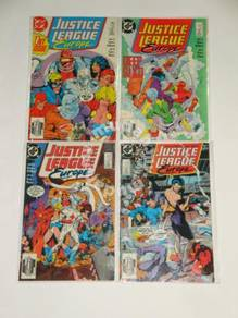 JUSTICE LEAGUE EUROPE. 1989. issue 1-4. set
