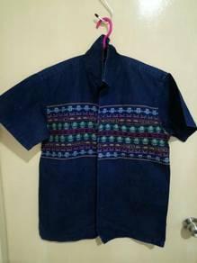 Stormy Blue Pherrow's Denim Shirt
