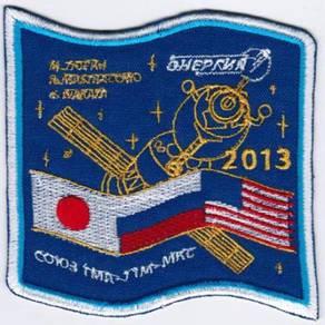 Soyuz TMA-11M-MKC Vostok Russia Human Space Patch