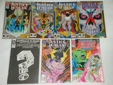 JUSTICE LEAGUE AMERICA. 1987. issue 71-77. 1-set