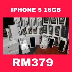 Iphone 5 16gb store full set box seconhan