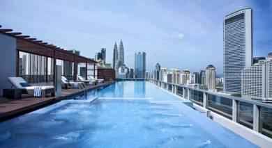 [Fully Furnish] KLCC View Suites, Rebate 15%, PWTC Jalan Sultan Ismail