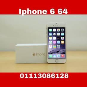 Iphone -6- original 64gb seconhan warna gold