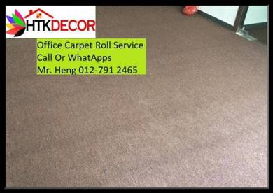 Natural Office Carpet Roll with install w45y