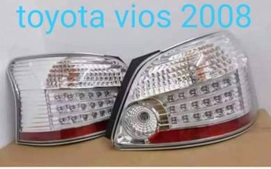 Toyota vios 07-12 led taillamp tail lamp lights 3