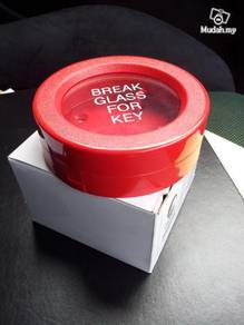 Break Glass Emergency Key Box Fire