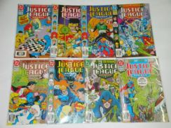 JUSTICE LEAGUE AMERICA. 1987. issue 61-68. 1-set