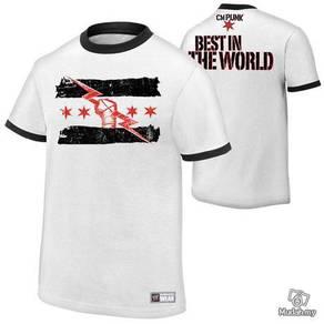 Gym T Shirt (CM PUNK) Baju
