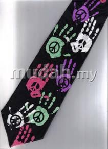 Peace Punk And Rock Novelty Fancy Neck Tie