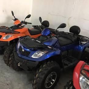 ATV 600cc. Motor. New 4x4