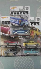 Hotwheels Car Cultures Trucks