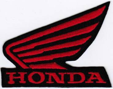 Honda Motorcycle Wing #RTB Racing Badge Patch