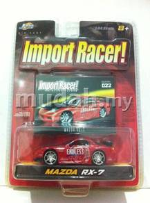 Jada Toys Import Racer Mazda RX-7 #022 Endless Red