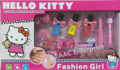 DIY Designable Hello Kitty Nail Art Comestic