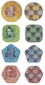 Plastic Coins of Transnistria