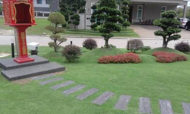 Service all i/gardening and landscaping +pokok