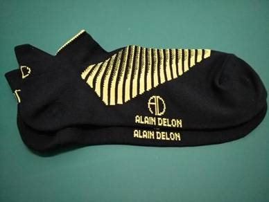 Sock/AlainDelon/Adult/Yellow