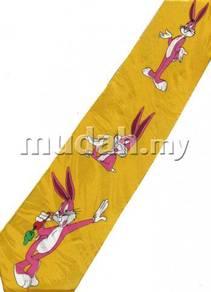 Disney Bugs Bunny Carrot Cartoon Novelty Neck Tie