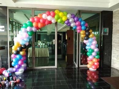 Welcome Balloon Entrance 00724