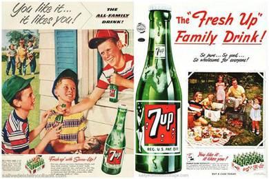 Poster 7 up vintage