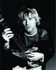 Poster kurt cobain 77