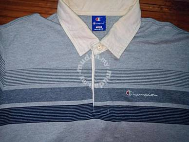 Authentic CHAMPION STRIPED RUGBY L/Sleeves L Shirt