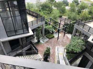 Corner Ground Semi D Shop or Office Rooftop Garden Tamarind Square