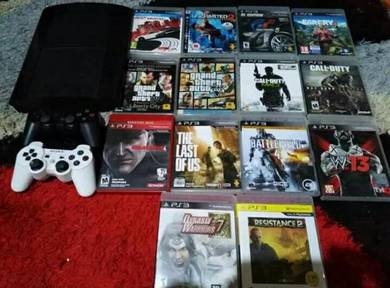Ps3 superslim with games