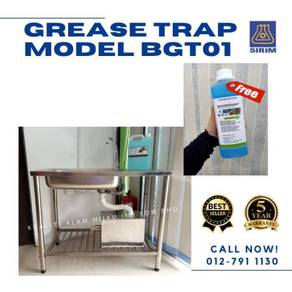 Grease Trap - 21 Liter/ 10GPM